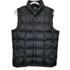 Eddie Bauer | puffy vest | goose down | black